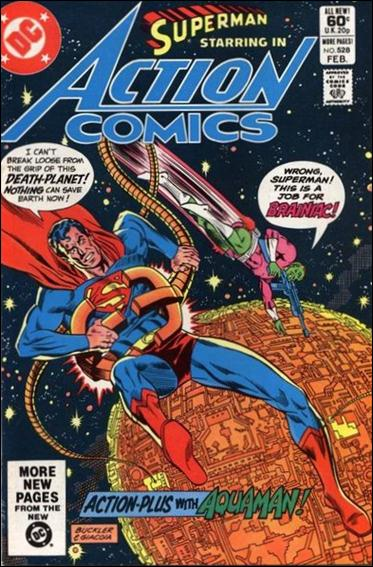 Action Comics (1938) 528-A by DC