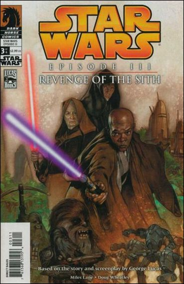 Star Wars: Episode III - Revenge of the Sith 3-A by Dark Horse