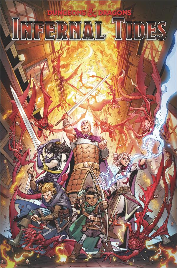 Dungeons & Dragons: Infernal Tides nn-A by IDW