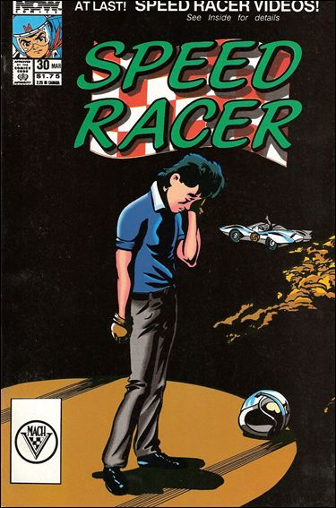 Speed Racer (1987) 30-A by Now Comics
