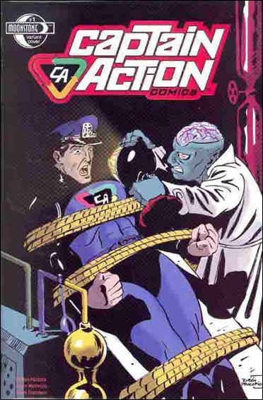 Captain Action Comics 1-C by Moonstone