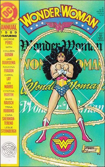 Wonder Woman Annual  2-A by DC