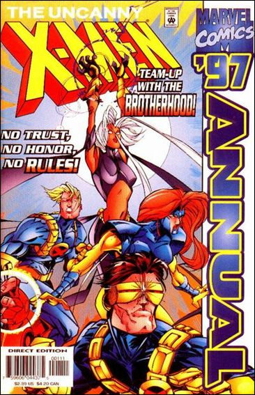 Uncanny X-Men Annual (1970) '1997'-A by Marvel