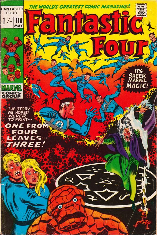 Fantastic Four (1961) 110-C by Marvel