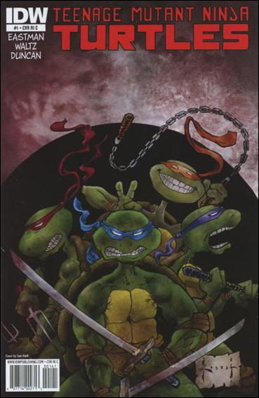 Teenage Mutant Ninja Turtles (2011) 1-G by IDW