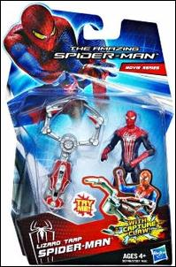 Amazing Spider-Man (2012) Lizard Trap Spider-Man (Movie Series) by Hasbro