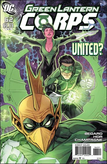 Green Lantern Corps (2006) 62-B by DC