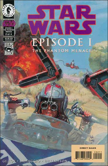 Star Wars: Episode I The Phantom Menace 2-A by Dark Horse