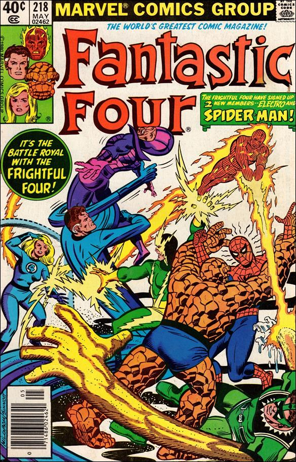 Fantastic Four (1961) 218-A by Marvel