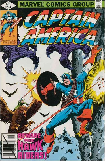 Captain America (1968) 238-A by Marvel
