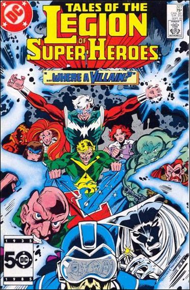 Tales of the Legion of Super-Heroes 327-A by DC