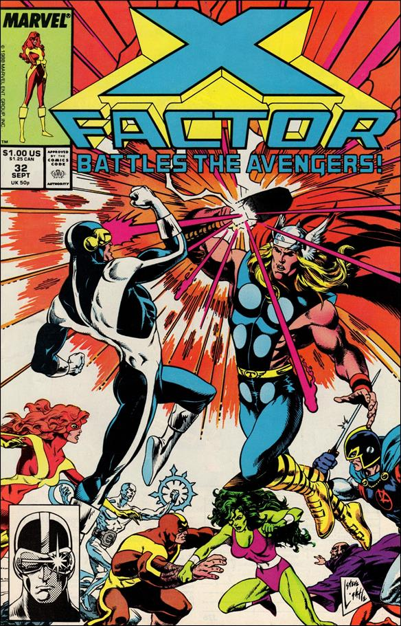 X-Factor (1986) 32-A by Marvel