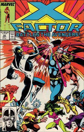 X-Factor (1986) 32-A