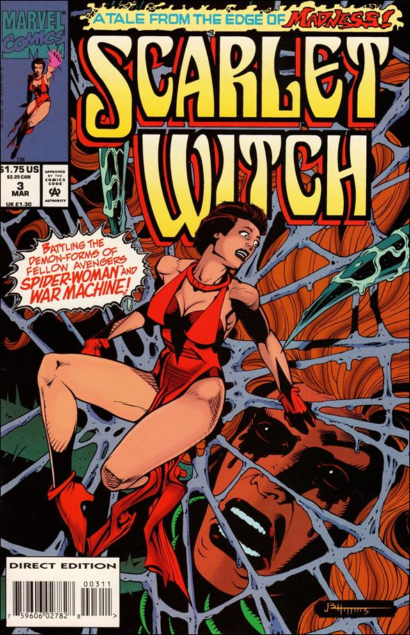 Scarlet Witch (1994) 3-A by Marvel