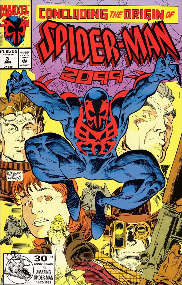 Spider-Man 2099 (1992) 3-A by Marvel