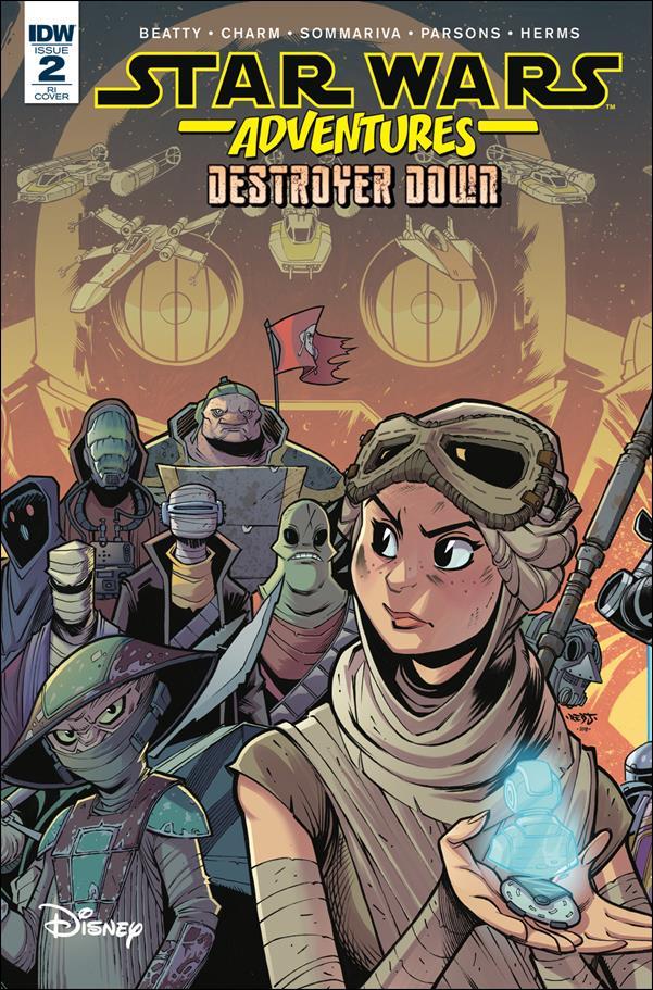 Star Wars Adventures: Destroyer Down 2-B by IDW
