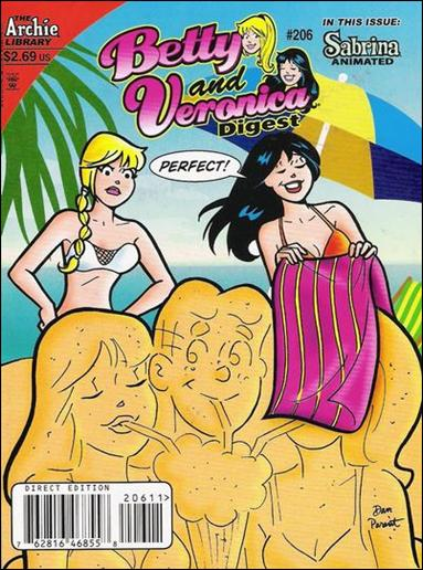 Betty and Veronica Digest Magazine 206-A by Archie