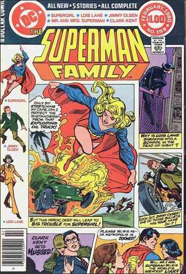 Superman Family 199-A by DC