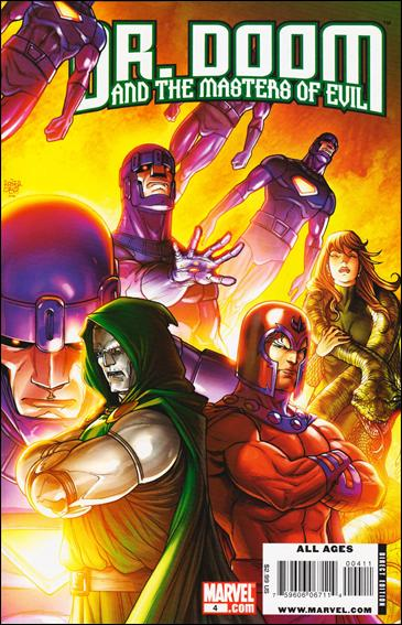 Doctor Doom and the Masters of Evil 4-A by Marvel