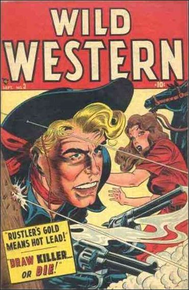 Wild Western 3-A by Marvel