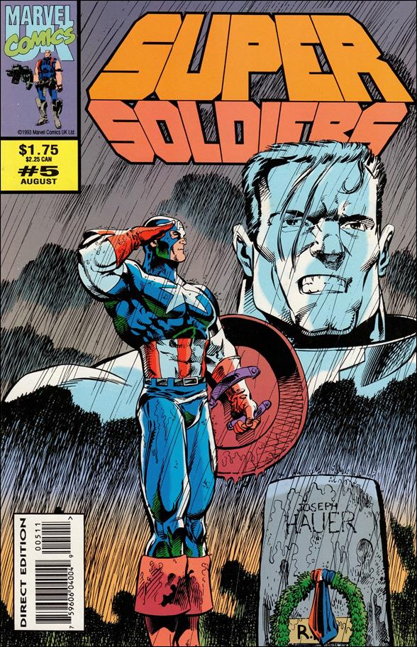 Supersoldiers (UK) 5-A by Marvel UK