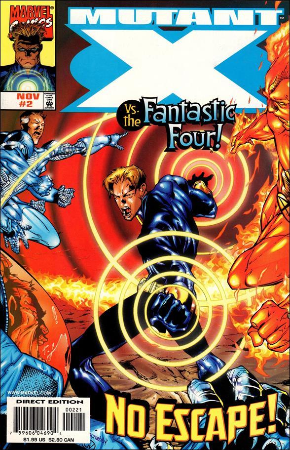 Mutant X 2-B by Marvel