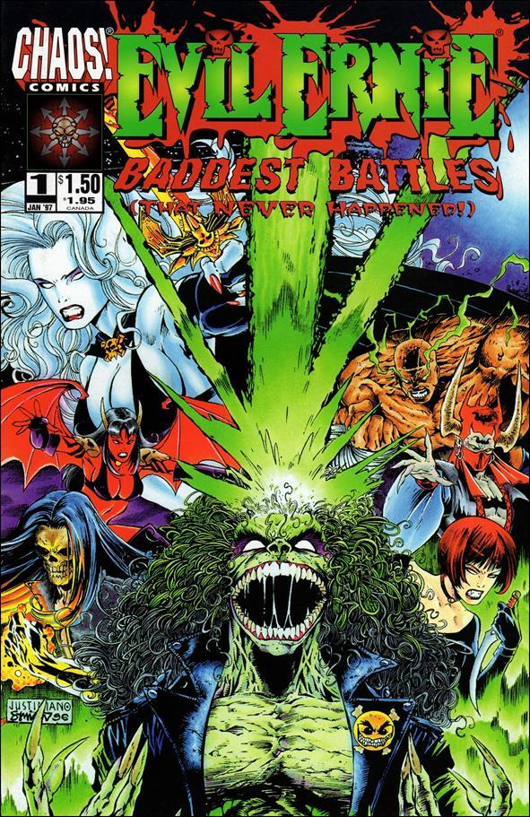 Evil Ernie: Baddest Battles 1-A by Chaos! Comics