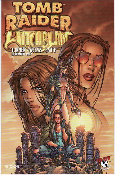 Tomb Raider/Witchblade 1-B by Top Cow