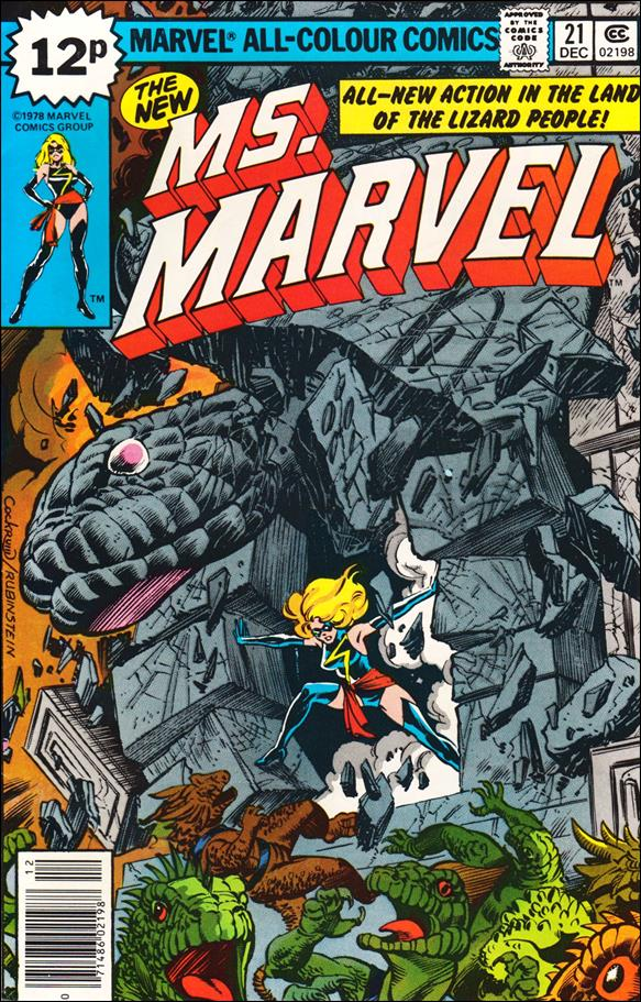 Ms. Marvel (1977) 21-B by Marvel