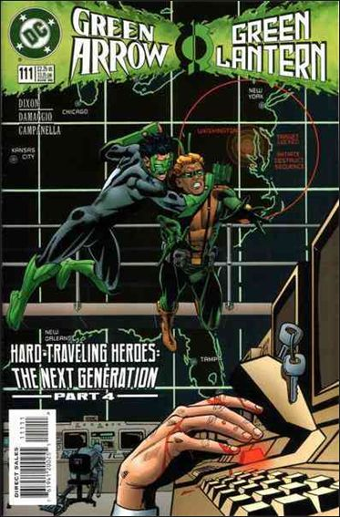 Green Arrow (1988) 111-A by DC