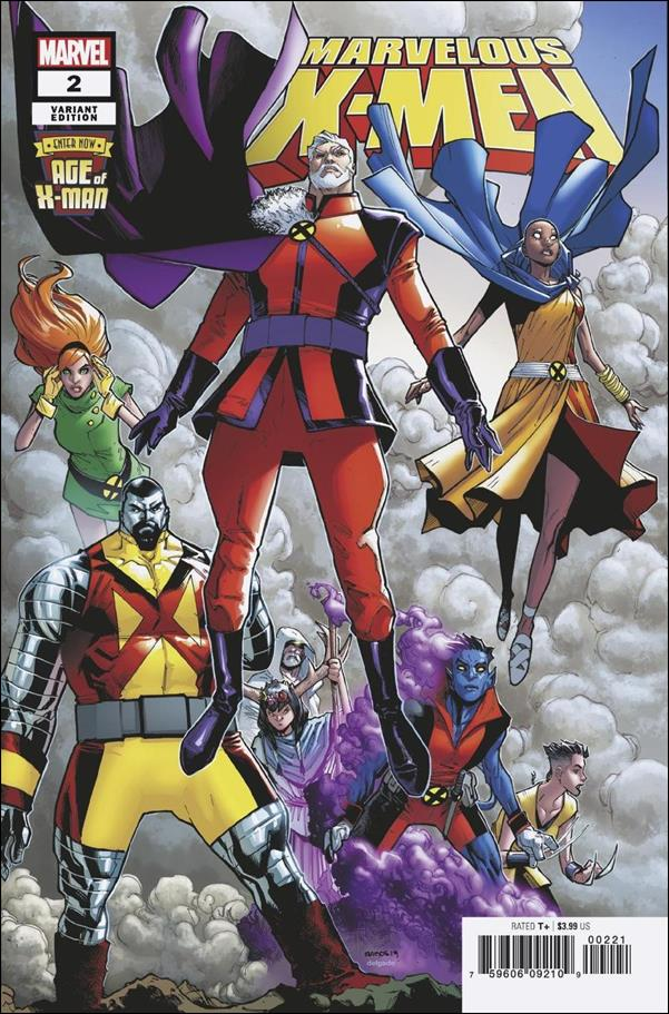 Age of X-Man: Marvelous X-Men 2-B by Marvel