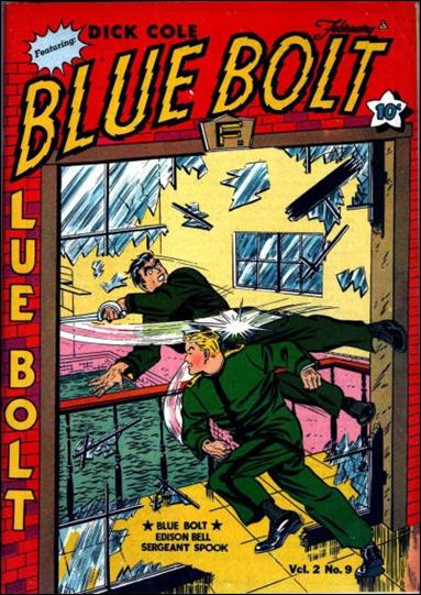 Blue Bolt (1941) 9-A by Novelty Press