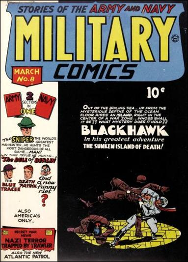 Military Comics 8-A by Comic Magazines