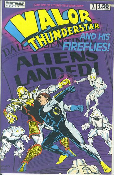 Valor Thunderstar and His Fireflies 1-A by Now Comics