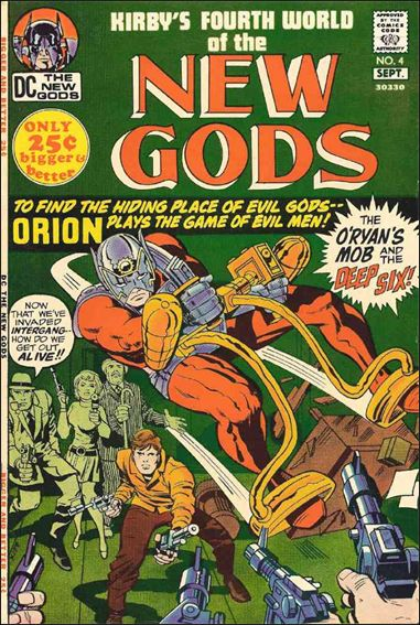 New Gods (1971) 4-A by DC
