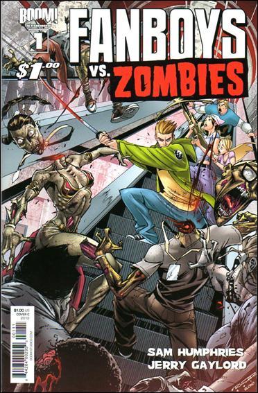 Fanboys vs Zombies 1-C by Boom! Studios