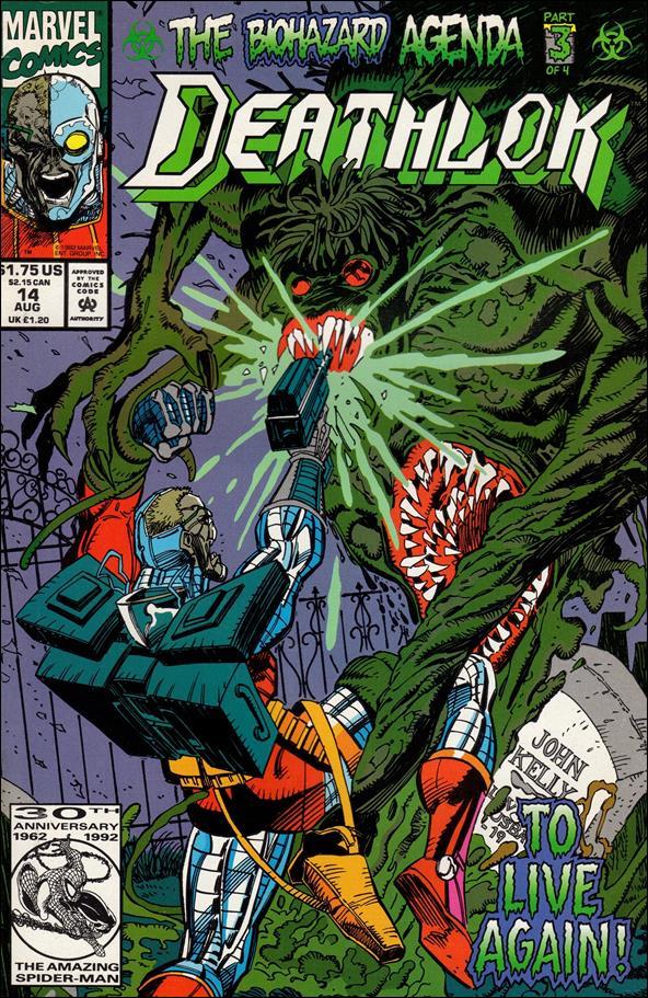Deathlok (1991) 14-A by Marvel