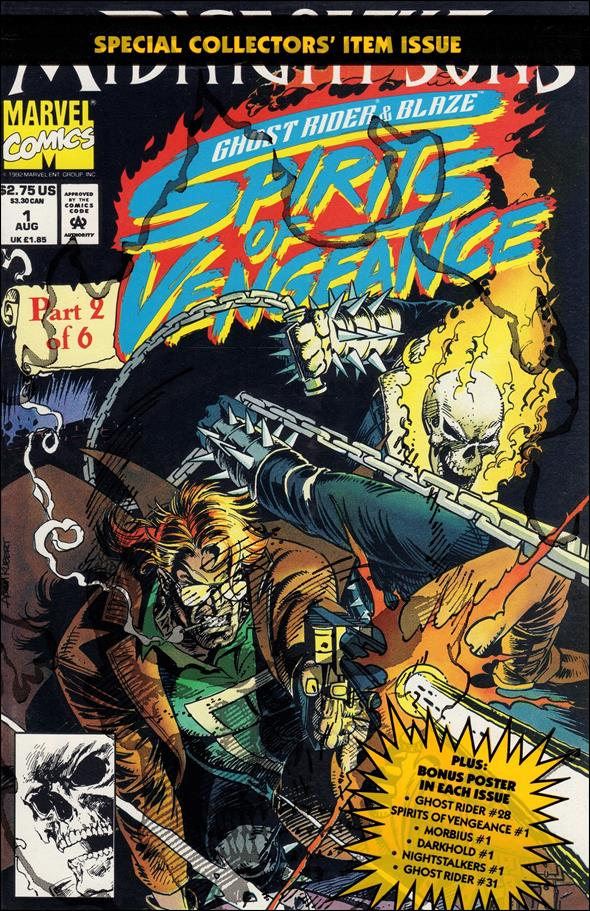Ghost Rider/Blaze: Spirits of Vengeance 1-B by Marvel