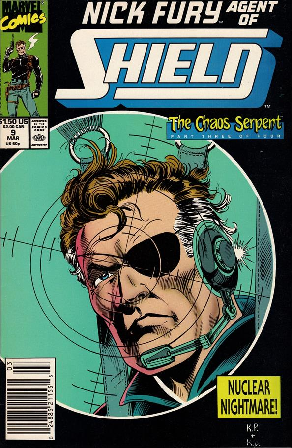 Nick Fury, Agent of S.H.I.E.L.D. (1989) 9-A by Marvel