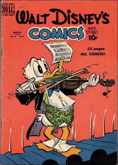 Walt Disney's Comics and Stories (1940) 114-A by Dell