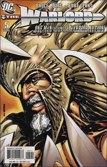 Warlord (2006) 5-A by DC