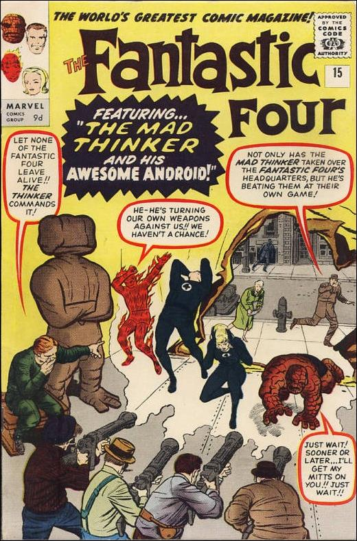 Fantastic Four (1961) 15-B by Marvel