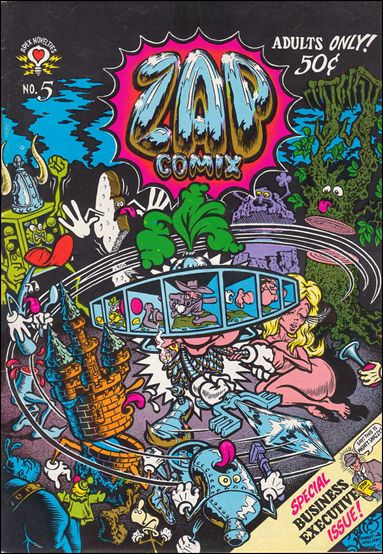 Zap Comix 5-A by Last Gasp