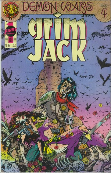 Grimjack 69-A by First
