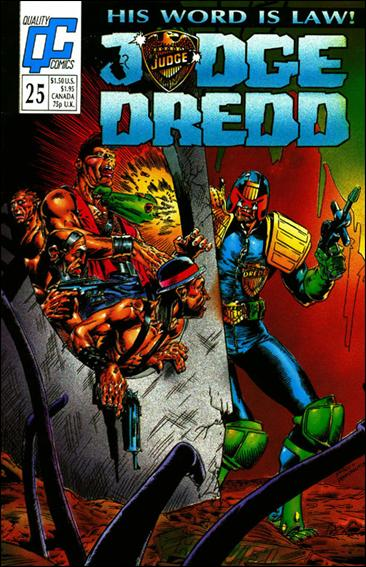 Judge Dredd (1986) 25-A by Quality Comics