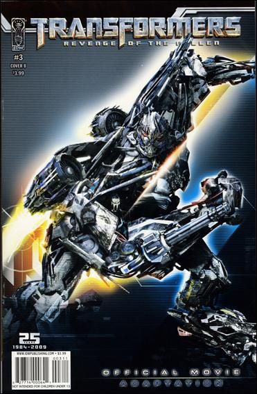 Transformers: Revenge of the Fallen Official Movie Adaptation 3-B by IDW