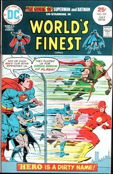 World's Finest Comics 231-A by DC