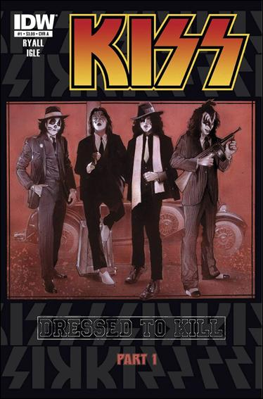Kiss (2012) 1-A by IDW
