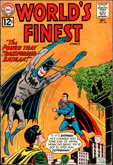 World's Finest Comics 128-A by DC