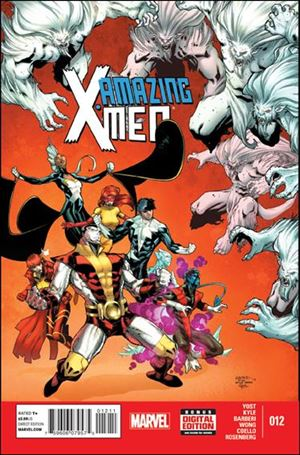 Amazing X-Men (2014) 12-A